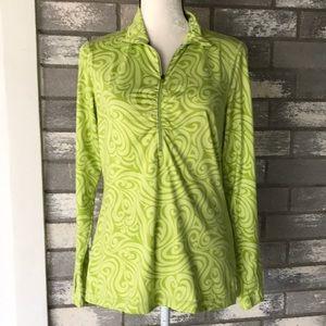 ATHLETA pullover shirt size M